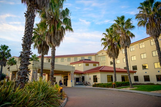 The Westwind Inn lodging facility at Travis Air Force Base, Calif.
