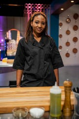 """Detroit chef Brittney Brown competes on Food Network's """"Vegas Chef Prizefight."""""""