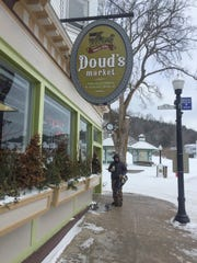 Doud's Market is the only store with food supplies that is open in the winter on Mackinac Island.