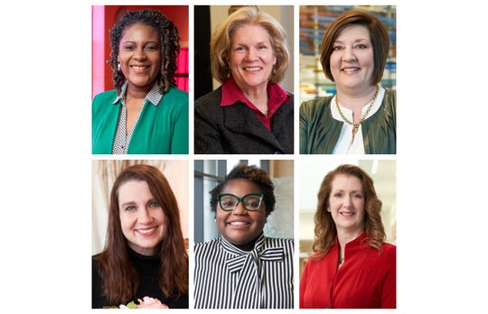 Six women were recognized as 2020 ATHENA Award winners. They are: Stephanie Terry, Jean Hitchcock, Lynn Lingafelter, Nikki Davis, Alyssia Oshodi and Dr. Heidi Dunniway