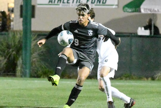 Mariner High School senior Leo Perez was named the Florida Dairy Famers Class 4A Boys Soccer Player of the Year on Tuesday.