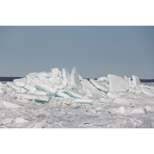Door Bluff Headlands County Park, which covers about 228 acres is also a great place to see ice shoves in late March.