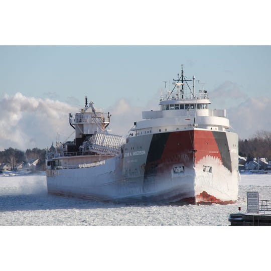 The traditional start of the shipping season is the opening of the Soo Locks in Sault Sainte Marie, MI. This year the locks open on March 25. That means the Winter Fleet will leave Sturgeon Bay around that time.