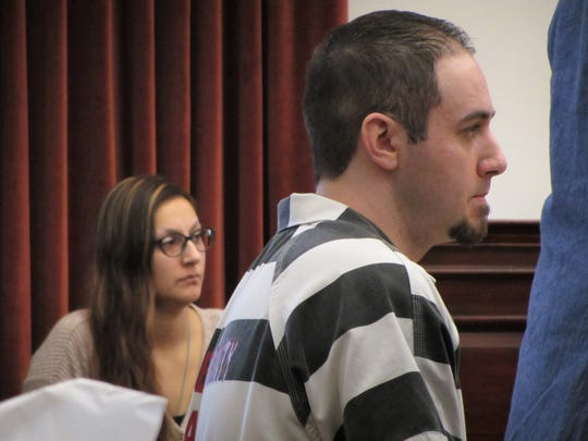 Former husband and wife Katelyn Zdeb, left, and Brandon Lee Craft were both given the maximum sentences Friday for their involvement in the murder of Adam Petzack and the theft of his military benefits.