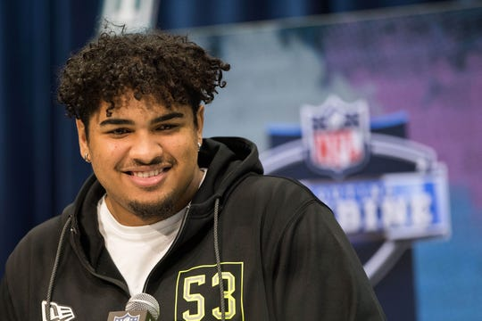 Tristan Wirfs' chances of being a top-10 pick at next month's NFL Draft continue to look good.