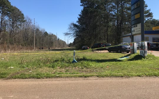 A body of a man was discovered near a wooded area behind a gas station in Jackson Friday, Feb. 28, 2020.