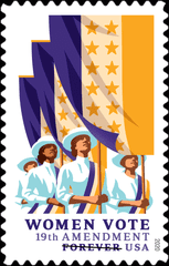 USPS will issue a stamp commemorating the 19th Amendment in August