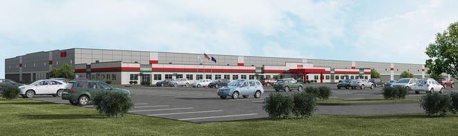 A rendering of the new NHK Seating facility in Frankfort