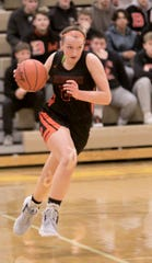 Sophie Dziekan had 15 points for Brighton in a first-round district victory over South Lyon.