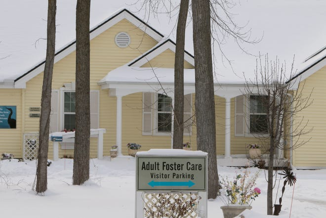 Blue Heron Pond Adult Foster Care in Green Oak Township, shown Thursday, Feb. 27, 2020, has been shut down.