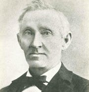Peter Johnston served as Manitowoc's first mayor from 1870 to 1872.