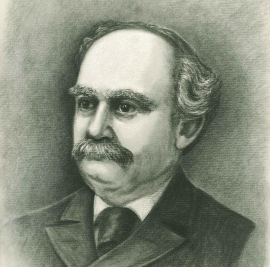 Alonzo DeForrest Jones served as Manitowoc's third mayor from 1873 to 1878.