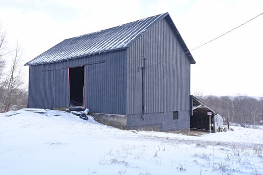 The barn is slated to be an event space for gatherings.