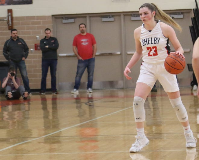 Shelby's Olivia Baker takes on a leadership role for the Whippets as they hope this year is the year they claim the district title.