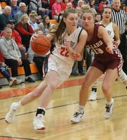 Shelby's Emma Randall was named first team All-Northwest District in Division II for her historic 2019-20 season.