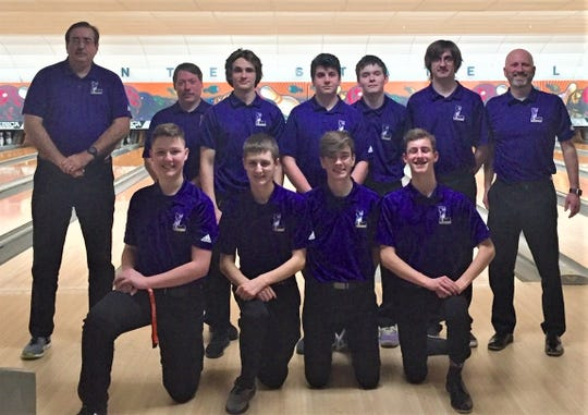 Lexington's boys bowling team will bid for a state berth Saturday during Division I district action at Astro Lanes in Wapakoneta