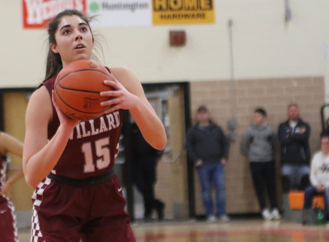 Willard's Cassie Crawford led the Lady Flashes to the Division II district title on Saturday.