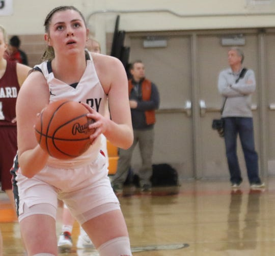 Shelby's Olivia Baker was named first team All-Mid-Ohio Athletic Conference.