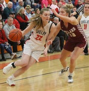 Shelby's Emma Randall helped the Lady Whippets post a 44-5 record over the last two seasons.