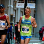 John Dewitt, a West Allis resident and math teacher at Nathan Hale High School, competed in the U.S. Olympic Marathon Trials Saturday in Atlanta. He finished 90th overall with a time of 2 hours, 24 minutes and 9 seconds.