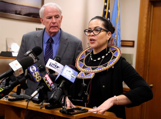 Milwaukee Health Commissioner Jeanette Kowalik and Mayor Tom Barrett provide an update Friday on coronavirus preparations, including the city's coordination with state and federal authorities. Kowalik said there are four people in Milwaukee who traveled to China and are voluntarily self-quarantined.