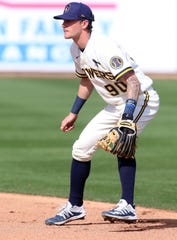 Top prospect Brice Turang has played in 13 Cactus League games already for the Brewers over two seasons.