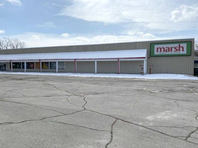 The former Marsh at 1920 S. Hoyt Avenue. Now owned by NSI Investments, the space will be turned into an Affordable Family Storage.