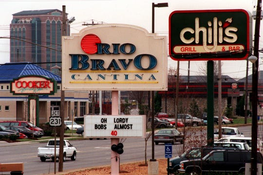 Rio Bravo Cantina opened in 1996 on Northwest Broad Street in Murfreesboro, across from where The Cooker once stood and next door to Chili's, which remains in operation.