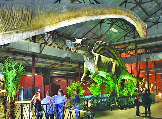Jurassic Quest will be at Williamson County Ag Expo Park from March 20-22.