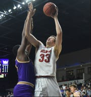 Belmont's Nick Muszynski proved Thursday night when he scored 23 points against Tennessee Tech that he is well on his way to recovering from an ankle injury.