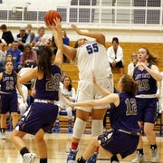 Photos from Carlsbad's District 4-5A semifinal game against Clovis on Feb. 27, 2020. Carlsad won, 32-21 and will face Hobbs for the championship on Saturday.