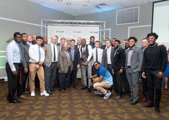 Pensacola Sports Annual Awards Banquet in Pensacola on Thursday, Feb. 27, 2020.