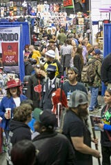 Thousands of fans will descend on the Pensacola Bay Center, as well as other venues, for Pensacon this week.