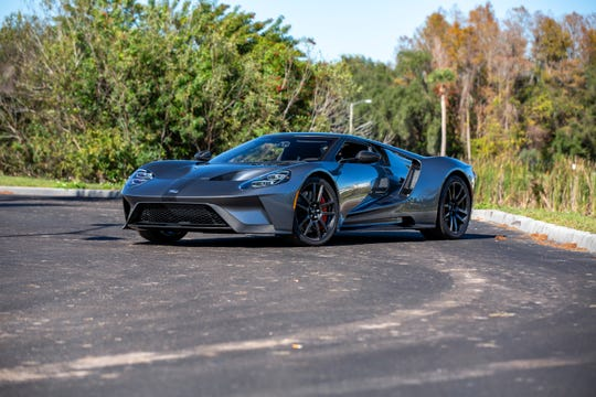 2017 Ford GT Competition Series.