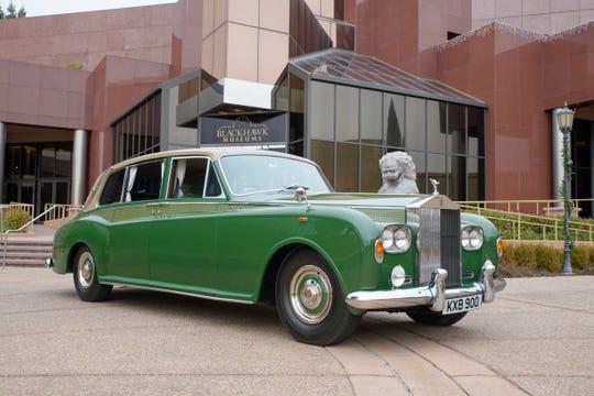 1969 Rolls-Royce Phantom VI Mulliner Park Ward Limousine.