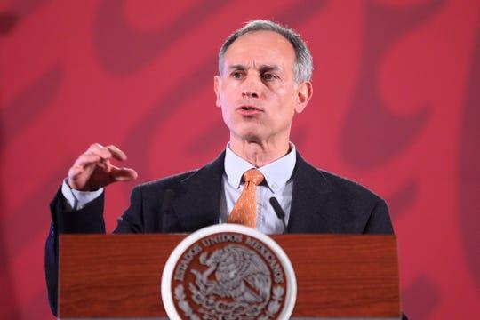 Hugo López Gatell, subsecretario de Prevención y Promoción de la Salud.