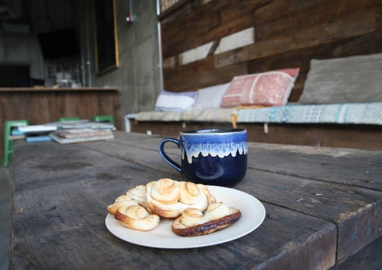 Cookies and coffee at Jane Bakes cafe in Fishkill on February 27, 2020. Jane Bakes plans to open the cafe in early March.
