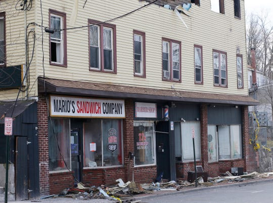 10 Market Street in the Village of Wappingers Falls is slated for demolition following damage from Tuesday's fire.