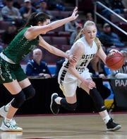 Brooke Lawyer is a senior leader for the Delone Catholic girls' basketball team. She's a returning all-state player and a career 1,000-point scorer.