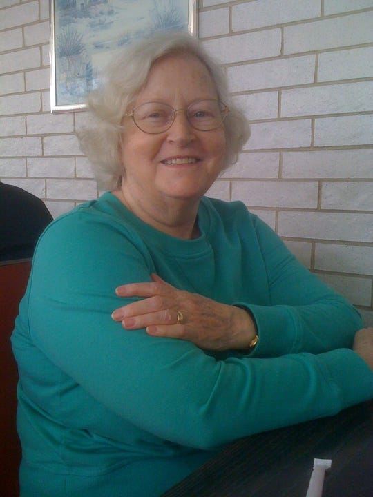 Bonnie Vaughn of Greece turns 80 in actual years Saturday, but just 20 in leap years.