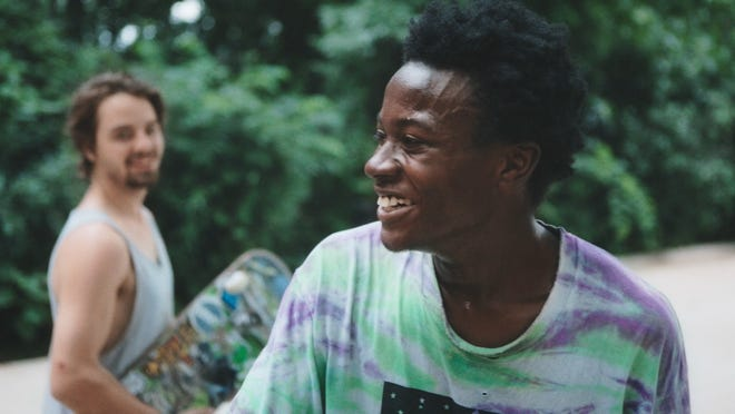 "Keire Johnson and Zack Mulligan are shown in a still from ""Minding the Gap,"" a 2018 documentary nominated for an Oscar last year that will be screened at the upcoming Rated SGF film festival. The documentary chronicles the lives and friendships of three young men growing up in Rockford, Illinois, united by their love of skateboarding."