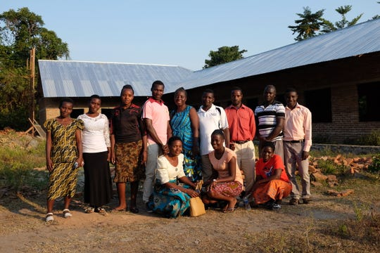 The Askinosie Foundation, Mababu Central Cocoa Fermentary (CCF) Farmer Cooperative and Askinosie Chocolate have partnered to create apreschool in a Tanzanian cocoa farming village. This is the staff.