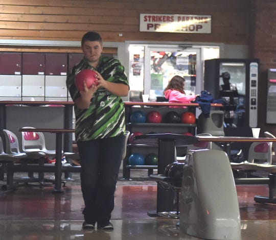 Staunton High School's D.J. DePriest will be competing in the Junior Gold Bowling Nationals in Las Vegas this summer.