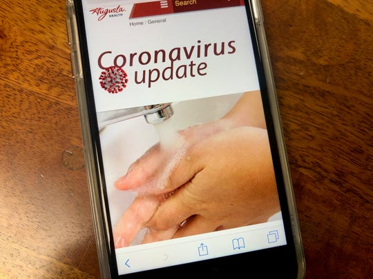 Augusta Health created a new online page dedicated to coronavirus updates and information.