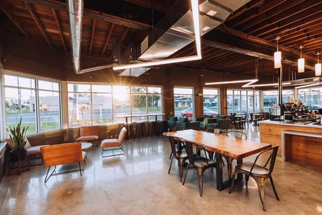 Lucky Goat Coffee opened its fifth location on South Adam Street, which will operate as a hybrid cafe and administrative office.