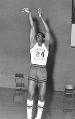 Leonard Hamilton helped break the color barrier at his hometown Gaston College from 1966 through 1968.