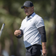 Brooks Koepka throws his putter after his birdie putt on the third hole lips out during the second round of the Honda Classic on Friday, Feb. 28, 2020, at PGA National in Palm Beach Gardens.