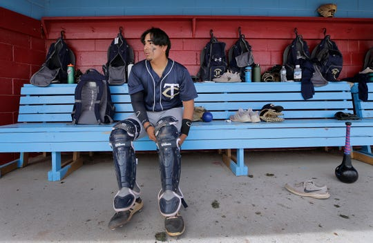 Coronado senior catcher Mauricio Millan is a key player for the Thunderbirds both behind the plate and on the mound. He'll continue his playing career at El Paso Community College.