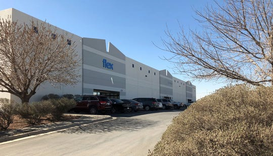 This building at 9600 Joe Rodriguez Drive in El Paso's Lower Valley is part of a recent, 22-building industrial real estate deal. Part of the building houses an operation for Flex, a California manufacturing and logistics company.