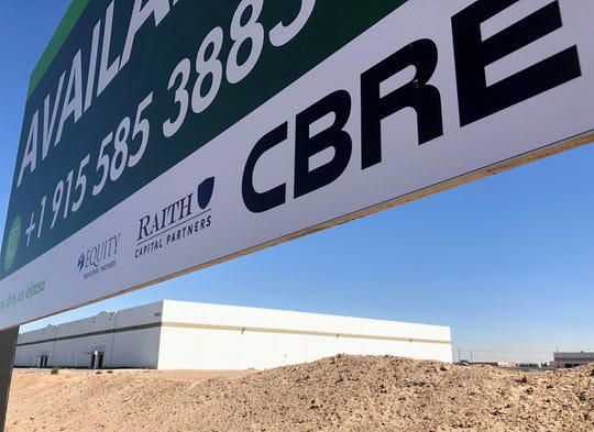Equity Industrial Partners and Raith Capital Partners plan to build two, new industrial buildings next to this recently completed warehouse at 9581 Joe Rodriguez Drive in El Paso's Lower Valley, part of the companies' recent purchase of 22 industrial buildings, a CBRE Group agent reported.